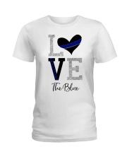 Love The Blue Shirt Ladies T-Shirt thumbnail