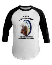 I Met Lil Sebastian Shirt Baseball Tee thumbnail