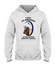 I Met Lil Sebastian Shirt Hooded Sweatshirt thumbnail