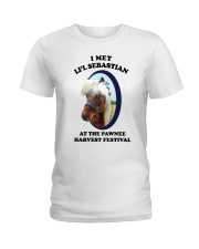 I Met Lil Sebastian Shirt Ladies T-Shirt thumbnail
