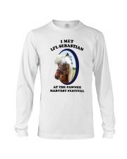 I Met Lil Sebastian Shirt Long Sleeve Tee thumbnail