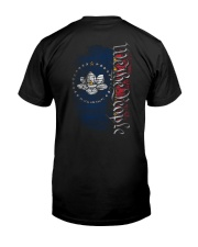 We The People In God We Trust Shirt Classic T-Shirt back