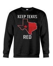Flag Keep Texas Red Shirt Crewneck Sweatshirt thumbnail