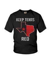 Flag Keep Texas Red Shirt Youth T-Shirt thumbnail