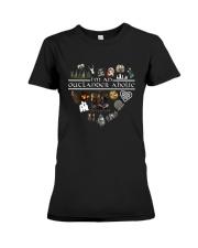 I'm An Outlander Aholic Shirt Premium Fit Ladies Tee thumbnail