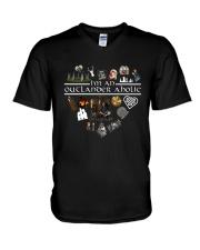 I'm An Outlander Aholic Shirt V-Neck T-Shirt thumbnail