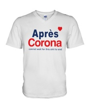 Lisa Rinna Apres Corona Shirt V-Neck T-Shirt thumbnail