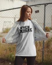 Mlbpa When And Where Shirt Classic T-Shirt apparel-classic-tshirt-lifestyle-07