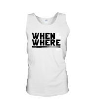 Mlbpa When And Where Shirt Unisex Tank tile