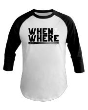 Mlbpa When And Where Shirt Baseball Tee thumbnail