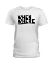 Mlbpa When And Where Shirt Ladies T-Shirt thumbnail