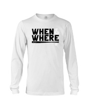 Mlbpa When And Where Shirt Long Sleeve Tee tile