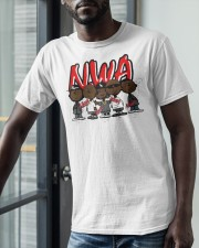 Charlie Brown Mashup Nwa Signatures Shirt Classic T-Shirt apparel-classic-tshirt-lifestyle-front-39