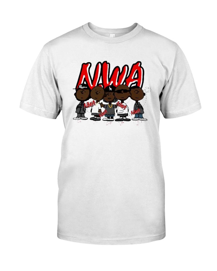Charlie Brown Mashup Nwa Signatures Shirt Classic T-Shirt