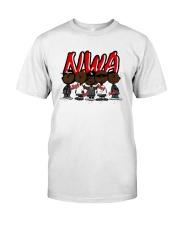 Charlie Brown Mashup Nwa Signatures Shirt Classic T-Shirt front