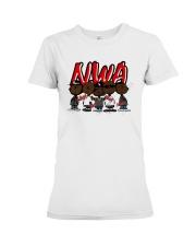 Charlie Brown Mashup Nwa Signatures Shirt Premium Fit Ladies Tee thumbnail