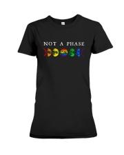 Moon Phase Lgbt Not A Phase Shirt Premium Fit Ladies Tee thumbnail