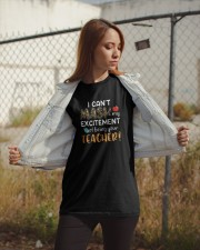 I Can't Mask My Excitement Of Being Your Shirt Classic T-Shirt apparel-classic-tshirt-lifestyle-07