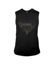 Lgbt Non Binary Humanoid Shirt Sleeveless Tee thumbnail