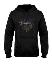 Lgbt Non Binary Humanoid Shirt Hooded Sweatshirt thumbnail