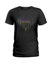 Lgbt Non Binary Humanoid Shirt Ladies T-Shirt thumbnail