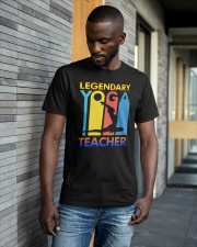 Legendary Yoga Teacher Shirt Classic T-Shirt apparel-classic-tshirt-lifestyle-front-41-b
