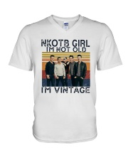 Nkotb Girl Im Not Old Im Vintage Shirt V-Neck T-Shirt thumbnail