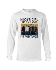 Nkotb Girl Im Not Old Im Vintage Shirt Long Sleeve Tee thumbnail