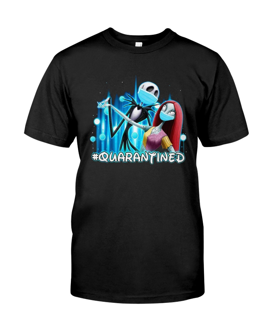 Jack And Sally Quarantined Shirt Classic T-Shirt