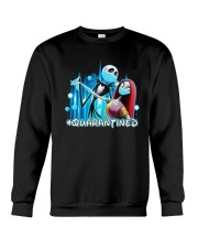 Jack And Sally Quarantined Shirt Crewneck Sweatshirt thumbnail