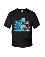 Jack And Sally Quarantined Shirt Youth T-Shirt thumbnail