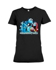 Jack And Sally Quarantined Shirt Premium Fit Ladies Tee thumbnail