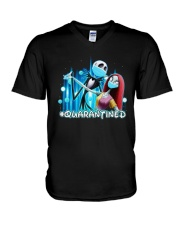 Jack And Sally Quarantined Shirt V-Neck T-Shirt thumbnail