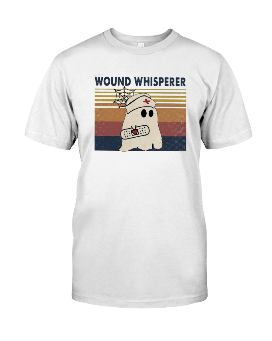 Vintage Nurse Ghost Wound Whisperer Shirt Classic T-Shirt