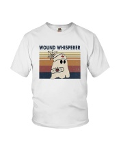Vintage Nurse Ghost Wound Whisperer Shirt Youth T-Shirt thumbnail