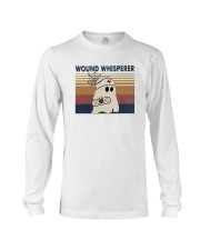 Vintage Nurse Ghost Wound Whisperer Shirt Long Sleeve Tee thumbnail