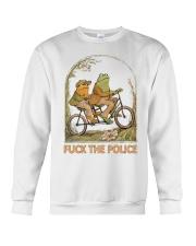 Frog And Toad Fuck The Police Shirt Crewneck Sweatshirt thumbnail