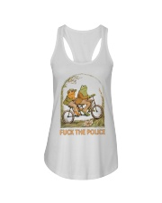 Frog And Toad Fuck The Police Shirt Ladies Flowy Tank thumbnail