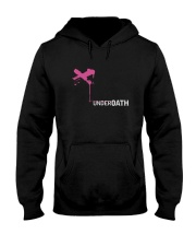Pink X Underoath Shirt Hooded Sweatshirt thumbnail