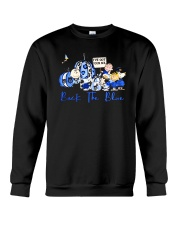 The Peanuts Ive Got Your Six Back The Blue Shirt Crewneck Sweatshirt thumbnail