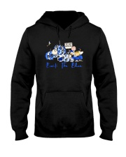 The Peanuts Ive Got Your Six Back The Blue Shirt Hooded Sweatshirt thumbnail