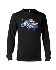 The Peanuts Ive Got Your Six Back The Blue Shirt Long Sleeve Tee thumbnail