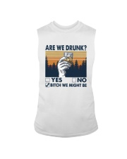 Vintage Are We Drunk Yes No Bitch We Might Shirt Sleeveless Tee thumbnail