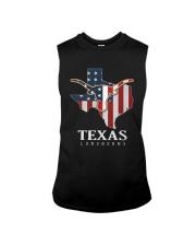 American Flag Texas Longhorn Shirt Sleeveless Tee thumbnail