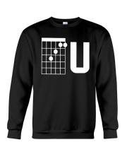 Guitar Chords F U Shirt Crewneck Sweatshirt thumbnail
