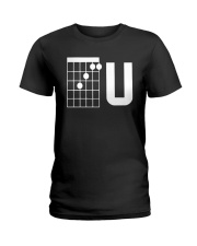 Guitar Chords F U Shirt Ladies T-Shirt thumbnail