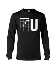 Guitar Chords F U Shirt Long Sleeve Tee thumbnail