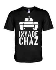 Conservative Daily Invade Chaz Shirt V-Neck T-Shirt thumbnail
