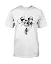 Astronaut Planet Solar Balloon Shirt Premium Fit Mens Tee thumbnail