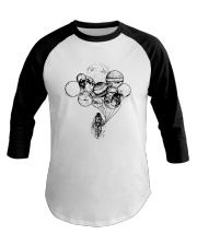 Astronaut Planet Solar Balloon Shirt Baseball Tee tile